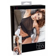 Top and Crotchless String