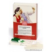 Test na zistenie krvnej skupiny