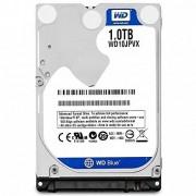 WD Storage Disco Duro Interno, 1 TB 2.5 Pulgadas, SATA 6 GB/s Disco, 9.5 mm Altura 5400RPM Modelo WD10JPVX, 2016, Azul