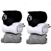 Manan fashion Unisex Ankle towel Socks - Pack of 6