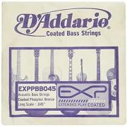 D'Addario Sngl Bass Exp Pb 045 Long