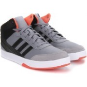 ADIDAS NEO PARK ST KFLIP MID Sneakers For Men(Black, Grey)