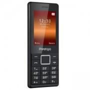 Мобилен телефон Prestigio Muze A1 (черен) поддържа 2 sim карти, 2.4 (6.10cm), Mediatek MTK 6261D, 32MB RAM, 32MB Flash памет, PFP1241DUOBLACK