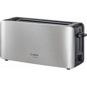 Bosch Toaster ComfortLine TAT6A803, 1 langer Schlitz, für 2 Scheiben, 1090 W