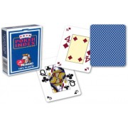 Modiano pokerové karty mini 4 rohy - Tmavě Modrá