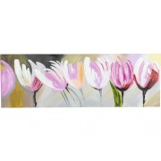 Tablou pictat manual Beauty 40x120 cm