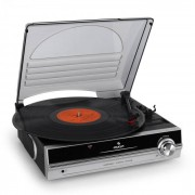 Auna TBA-928 Platine vinyle tourne-disque enceintes intégrés sortie Line Out