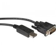 Cable DP M - DVI M, 2m, Value 11.99.5610
