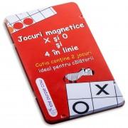 Joc de societate magnetic - X si 0 si 4 in linie