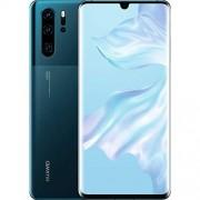 Huawei P30 Pro 256 GB 8GB RAM (sólo GSM, sin CDMA), versión internacional sin garantía (azul místico)