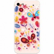 Husa silicon pentru Apple Iphone 5 / 5S / SE Butterfly 102