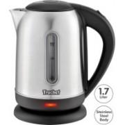 Truchef (USA) Model 5002 Tea Coffee Maggi Maker Water Heater Milk Boiler Stainless Steel Electric Kettle(1.7 L, Silver)