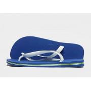 Havaianas Brazil Logo Flip Flops - Marine Blue - Heren