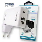 ROMOSS Power CUBE-EX Tip C & USB 3-Port Power adapter