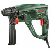 Ciocan rotopercutor Bosch PBH 2200 RE 0603344403, 550 W, 1.7 J, 2300 RPM, 5800 percutii/min, Negru/Verde