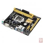 Asus H81M-R, Intel H81, VGA by CPU, PCI-Ex16, 2xDDR3, SATA3, VGA/DVI/USB3.0, mATX (Socket 1150)