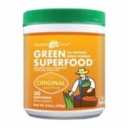 Green SuperFood Organic - Original - Bautura din iarba de grau, 30 portii