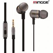 Mingge headset - in-ear oordopjes / oortjes zilver Microsoft Lumia 532 535 550 640 650 950 XL