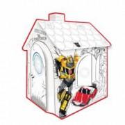 Coloreaza-ti Casuta Transformers