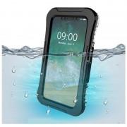 Capa Impermeável IP68 Active Series para iPhone X / iPhone XS - Preto