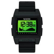 Nixon Base Tide Pro Watch Black Green Positive