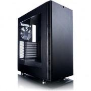 Carcasa desktop fractal design Definiti C Midi-Tower, negru, fereastra (FD-CA-DEF-C-W-BK)