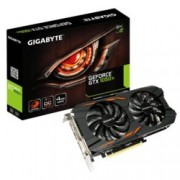 Видео карта GeForce GTX 1050 Ti, 4GB, Gigabyte N105TWF2OC-4GD, PCI-E 3.0, GDDR5, 128bit, Display Port, HDMI, DVI