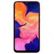 Samsung Galaxy A10 A105M DUOS Teléfono desbloqueado GSM, 32GB+32GB MicroSD, Rojo