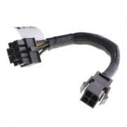 Cablu Akasa adaptor alimentare ATX 12V de la 4-pini la 8-pini, 15cm, AK-CBPW10-15BK