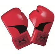 Bőr piros premium boxkesztyű