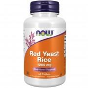 Now Foods Czerwony Ryż (Red Yeast Rice) 1200 mg 60 tabletek - 60 tabletek