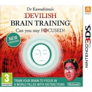 Dr Kawashima's Devilish Brain Training Can You Stay Focused? 3DS