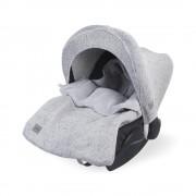 Sac de dormit bebelusi tricotat Confetti pentru scaun auto si carucior