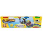 Pasta de modelat 4 culori Starter Plastelino