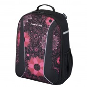 Rucsac Be.Bag ergonomic dimensiune 34x39x19 cm, motiv Airgo Ornament Flower