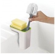 House of Quirk Sink Pod Self-Draining Sink Caddy Sink Pod Self-Draining Sink Caddy Kitchen Sink Organizer Sponge Holder