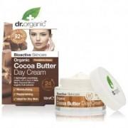 Dr. Organic Bio kakaóvaj nappali arcápoló krém - 50ml