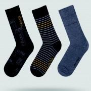Pánske ponožky John Frank JFLS17W17 - 3PACK