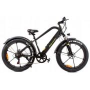 Rower Elektryczny Green Power Fatbike koło 26' 2019 Czarny