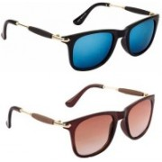 Bazarify Aviator Sunglasses(Multicolor)