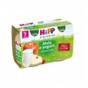 Hipp Gmbh & Co. Vertrieb Kg Hipp Biologico merenda mela e yogurt 2 X 125g