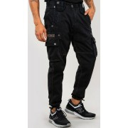 Alpha Rugg Pantalones Negro 36