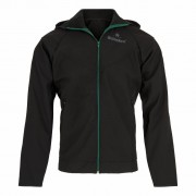 Heineken This stylish black men's windbreaker is made for all conditions and will serve you well when the weather takes a turn for the worse. With this windstopper on, wet and cold will take a backseat to warm and comfy under this fine Heineken jacket