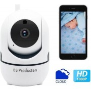 Babyfoon Met Camera - Beweegdetectie - Met App - WiFi - Smart Camera - Opslag In Cloud Of SD - BS Producten - Babyphone - Webcam