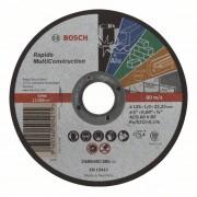 Диск за рязане, прав, Rapido Multi Construction, ACS 60 V BF, 125 mm, 1,0 mm, 1 бр., 2608602385, BOSCH