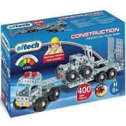 Eitech camion con rimorchio e carrello elevatore in acciaio