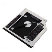 2nd HDD SSD Hard Drive Optical Bay Caddy Frame for Dell Latitude E6400 E6500 E6410 E6510 Precision M2400 M4400 M4500 Modular Bay