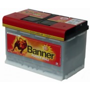 Banner 12V 84Ah 720A baterie auto Power Bull Professional cod PRO P8440