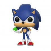 Sonic the Hedgehog Sonic with Emerald Pop! Vinyl Figure