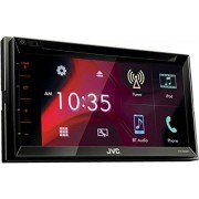 "JVC KW-V330BT Bluetooth Black car media receiver - car media receivers (4.0 channels, FM,LW,MW, 87.5 - 108 MHz, 153 - 279 kHz, MOSFET, 17.3 cm (6.8""))"